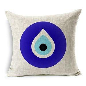 Evil Eye pillow case New Just arrived cotton linen